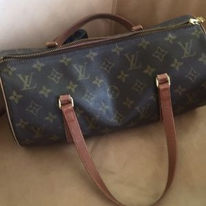 Louis Vuitton papillon 30 shoulder bag